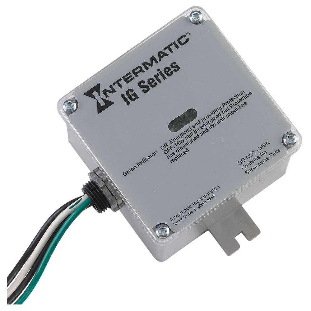 Intermatic IG1240RC3 Whole Home Type-1 or 2 Surge Protection Device by Intermatic