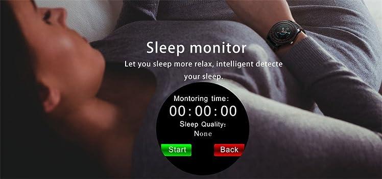 Amazon.com: Star_wuvi Fitness Tracker HR, Bluetooth Music ...