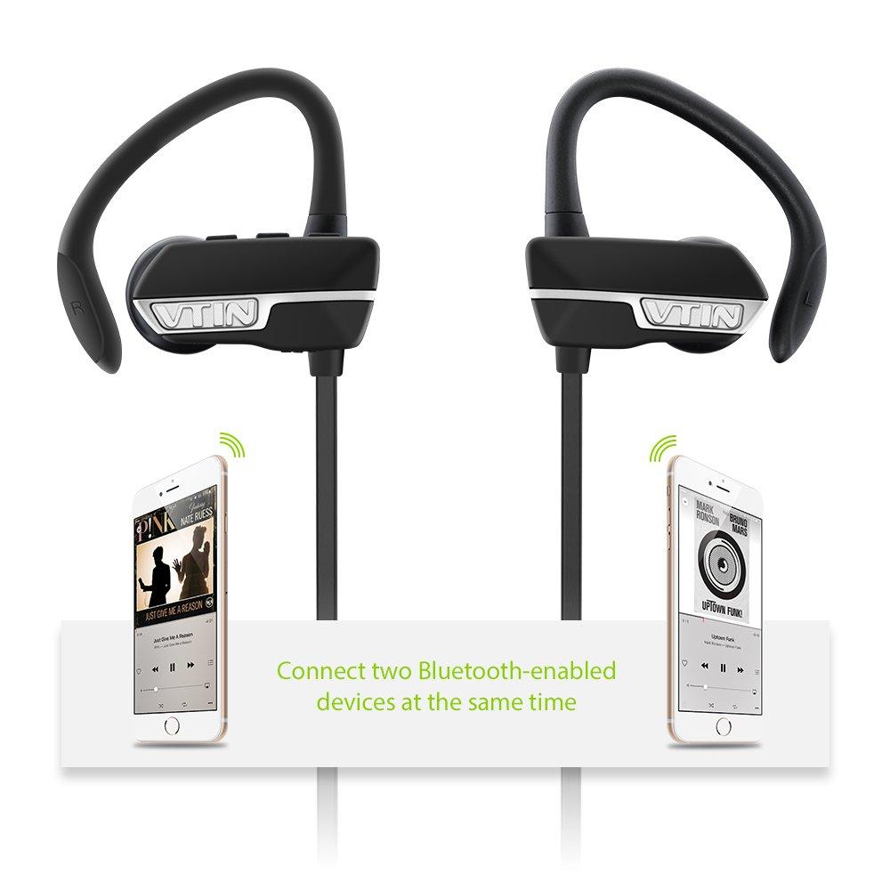 Auriculares Bluetooth 4.1 Inalámbrico Con Sonido Estéreo VicTsing por solo 16,99€