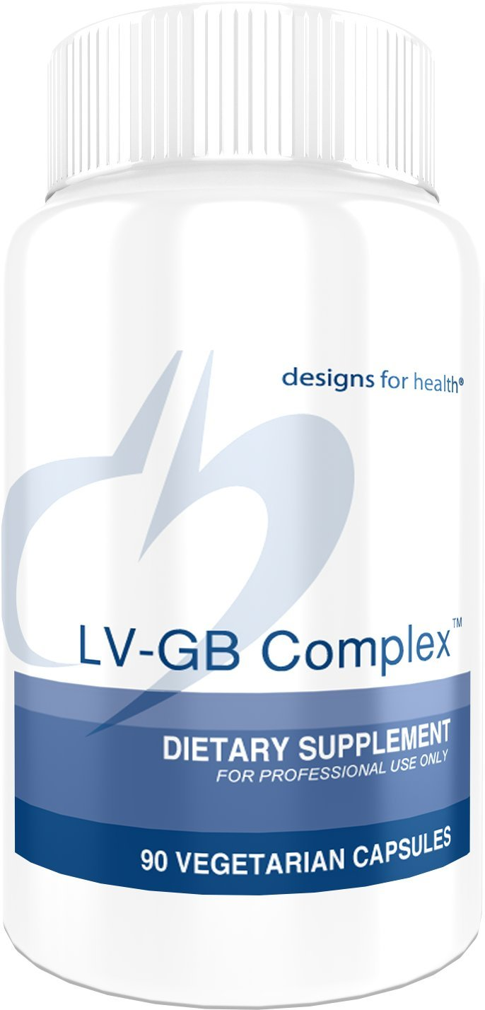 Designs for Health - LV-GB Complex - Liver & Gallbladder Support, 90 Capsules