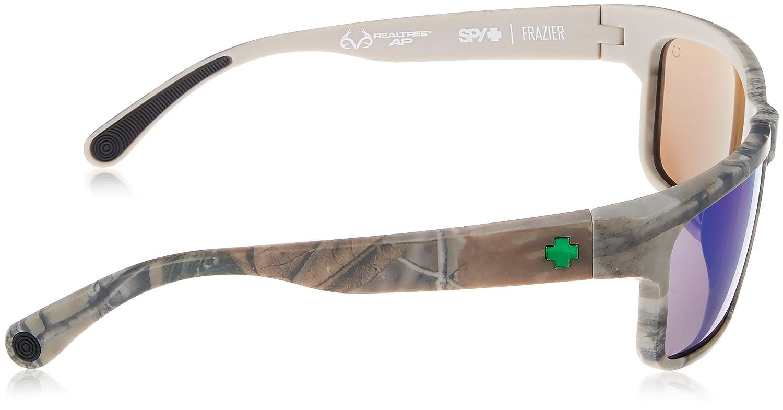 dc7698ff7c Spy Optic Unisex Frazier Real Tree® (Happy Lens) Spy + Real Tree - Happy  Bronze Polar w Green Spectra Sunglasses  Amazon.ca  Shoes   Handbags