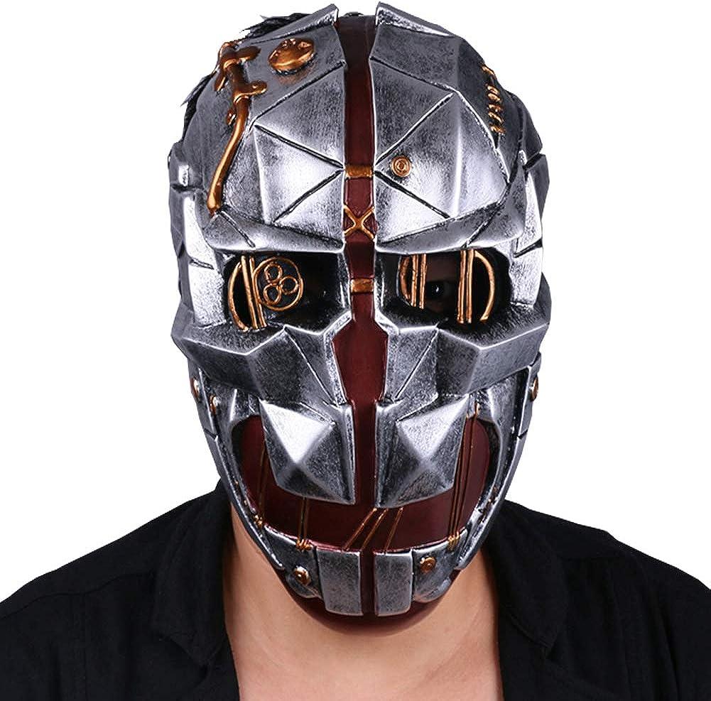 Dishonored 2 Mask Cosplay Corvo Attano Mask Halloween Mask Handmade Resin Prop