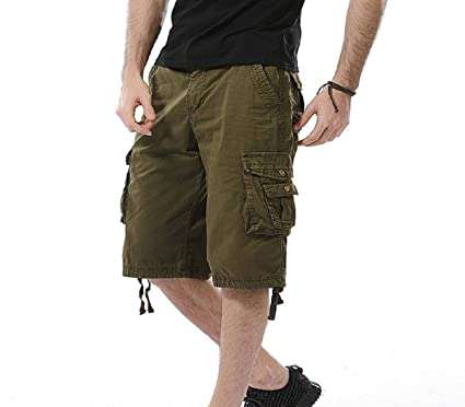 Manadlian Casual Herren Cargo Shorts Cargohose Kurze Hose Sommer Shorts 7  Farben Cargo Hose Männer Biker 0f95793eda