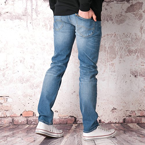 Lee - Jeans - Homme bleu denim
