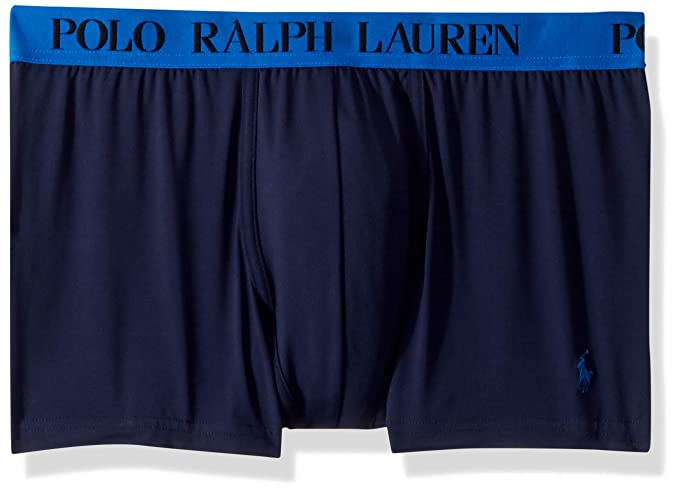 f9d851882685 Polo Ralph Lauren Microfiber Boxer Brief, S, Cruise Navy at Amazon Men s  Clothing store