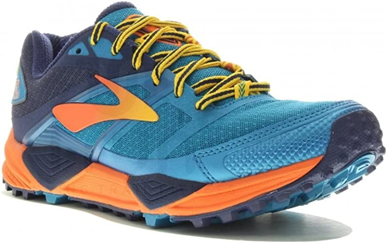 Brooks Cascadia 12 Yellowstone Limited Edition Tenis para Correr para Mujer (7 UK): Amazon.es: Zapatos y complementos