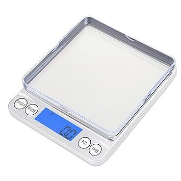 Mobiecube báscula de cocina utensilios de cocina 3000 G/0.01oz alimentos báscula electrónica Pocket