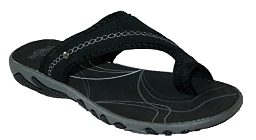 f207e425db5d Footwear Studio Northwest Territory Womens Miami Leather Open Hiking Sandal  (UK3