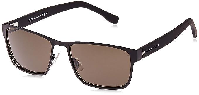Amazon.com: BOSS Black Metal anteojos de sol cuadrados en ...