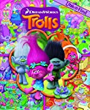 img - for DreamWorks Trolls Look and Find Book Hardcover Phoenix International Publications ISBN 9781503708976 book / textbook / text book