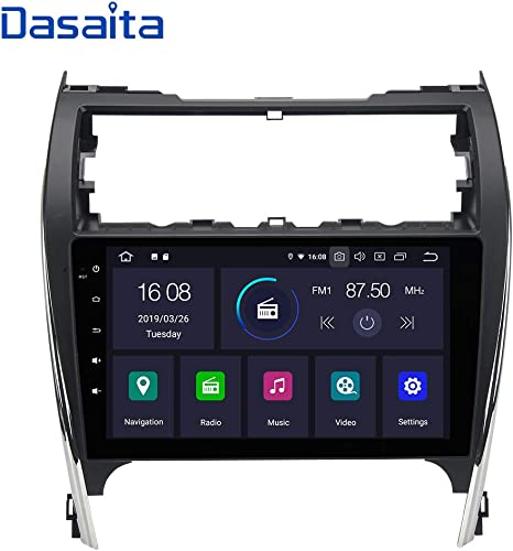 10.1/'/' IPS Android 8.1 Car Radio GPS Navi Buletooth For TOYOTA CAMRY 2006-2011