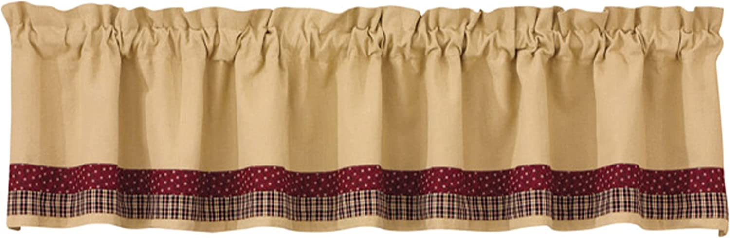Park Designs My Country Home Lined Border Valance