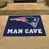 New England Patriots NFL Man Cave All-Star Floor Mat (34in x 45in)