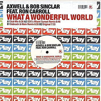Axwell & Bob Sinclar Feat. Ron Carroll - What A Wonderful ...