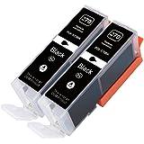 CIVO 2 Pack Ink Cartridges Replacement for PIXMA 270, PGI-270, PGI-270XL (2 Big Black) Works With MG6820 MG5720 MG6821 MG7720