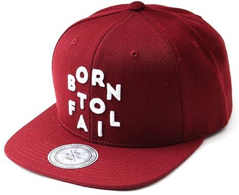 sujii BORN TO FAIL Baseball Cap gorra de beisbol Snapback Hat sombrero de  Trucker aace2cf247a
