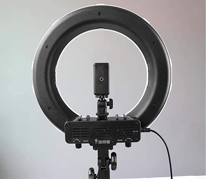 IV-ydzxx Ring Light Kit Carrying Bag for Camera,Smartphone,YouTube,Self-Portrait Shooting Light Stand Dimmable LED Ring Light