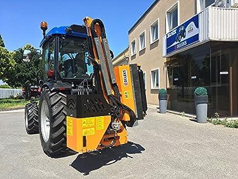 Desbrozadora para tractor con cardán B4 80 cm Seguridad ...