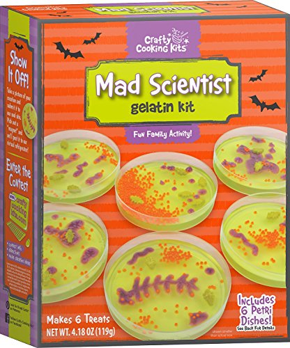 Crafty Cooking Kits Mad Scientist Gelatin, 4.18 Ounce
