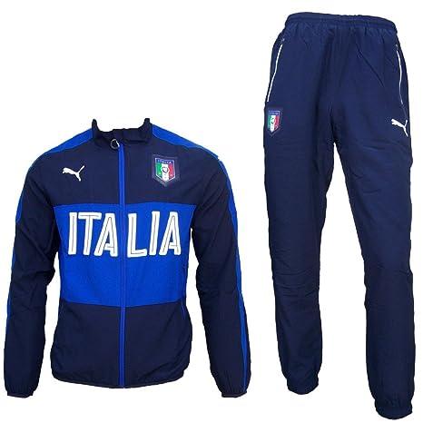 separation shoes fdca3 e5789 Puma Italia EM 2016 tuta da ginnastica: Amazon.it: Sport e ...