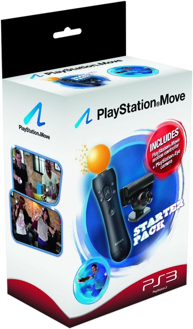 PlayStation Move Starter Pack with PlayStation Eye Camera and Move Controller (PS3)[Importación inglesa]: Amazon.es: Videojuegos