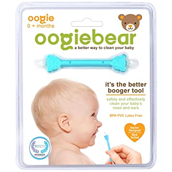 oogiebear - The Safe Baby Nasal Booger and Ear Cleaner