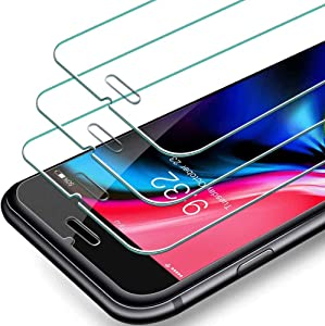 SEVENTHGO 3PACK Screen Protector for iPhone SE 2020/iPhone 8/iPhone 7/iPhone 6/iPhone 6S, Tempered Glass Screen Protector 4.7