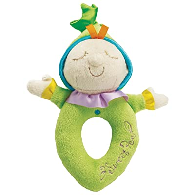 Manhattan Toy Snuggle Pods Sweet Pea Soft Rattle: Toys & Games