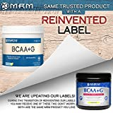MRM - BCAA+G Powder, Ultimate Muscle Post-Workout Recovery Formula, Supports Muscle Size & Strength, Recovery, Reduces Fatigue & Muscle Soreness (Lemonade, 180 g)
