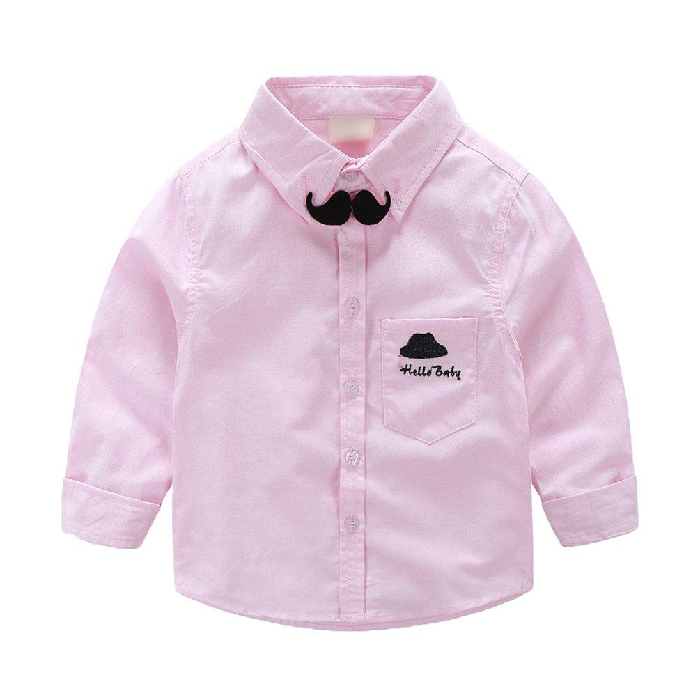 WanYang Camisa para Niños Escolar Niños Bebé Chicos Corbata de ...