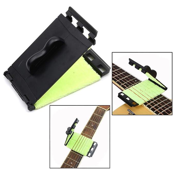 OFKPO Limpiador para Guitarra Eléctrica de Cuerdas y Diapasón: Amazon.es: Electrónica