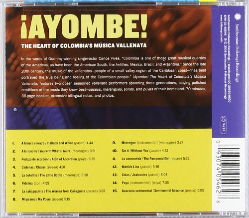 Ayombe!: The Heart of Colombia's Música Vallenata by Unknown
