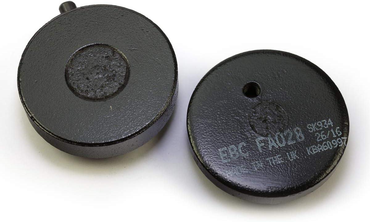 RS 100 FS1E RS 125 RD 200 EBC Blackstuff Bremsbel/äge f/ür Yamaha RD 125 RD 50 organisch