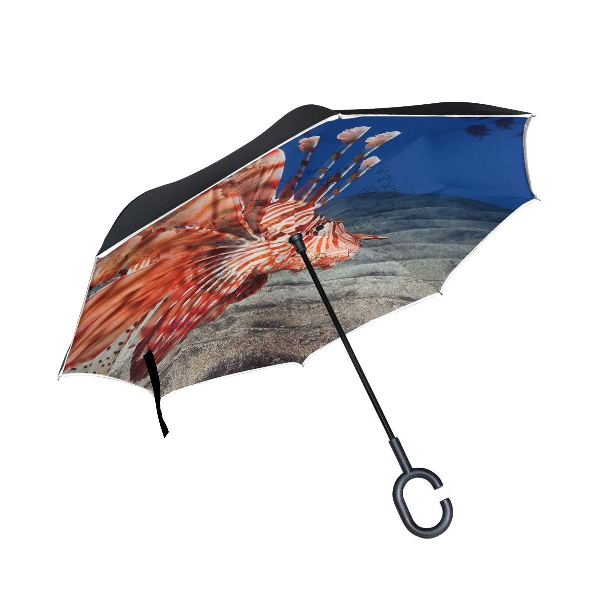 All agree 反転傘 インディアンオーシャンズ 逆傘 UV保護 防風 車 雨 日光 アウトドア ブラック One Size カラー6 B07GZ8TR7V