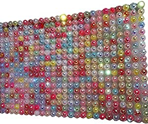 1400unidades) reluciente arco iris con diamantes autoadhesiva multicolor especial purpurina Efecto Super brillante Manualidades gltzer piedras joyas piedras brillantes para decorar de Crystal King