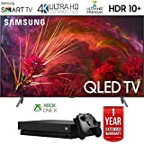 Samsung Q8FN Smart 4K Ultra HD QLED TV (2018) with 1 Year Extended Warranty (Super Bundle)