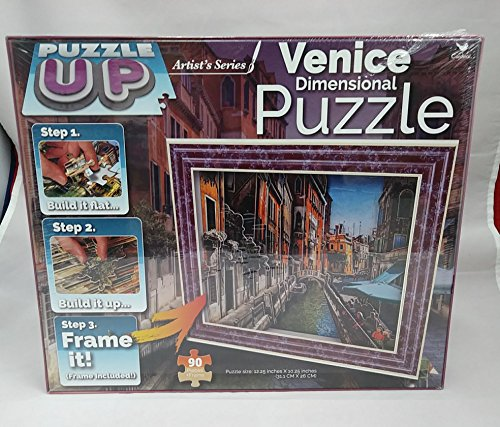 Cardinal Puzzle Up Artist's Series Venice Dimensional Puzzle 90 - Shores Gulf Outlets