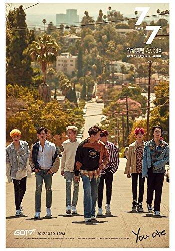 GOT7 7 FOR 7 Korean Boy Band Kpop Wall Decoration Poster (#036)