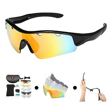 OUTERDO conducción polarizada Gafas de sol UV protección para los ojos resistente al viento gafas con