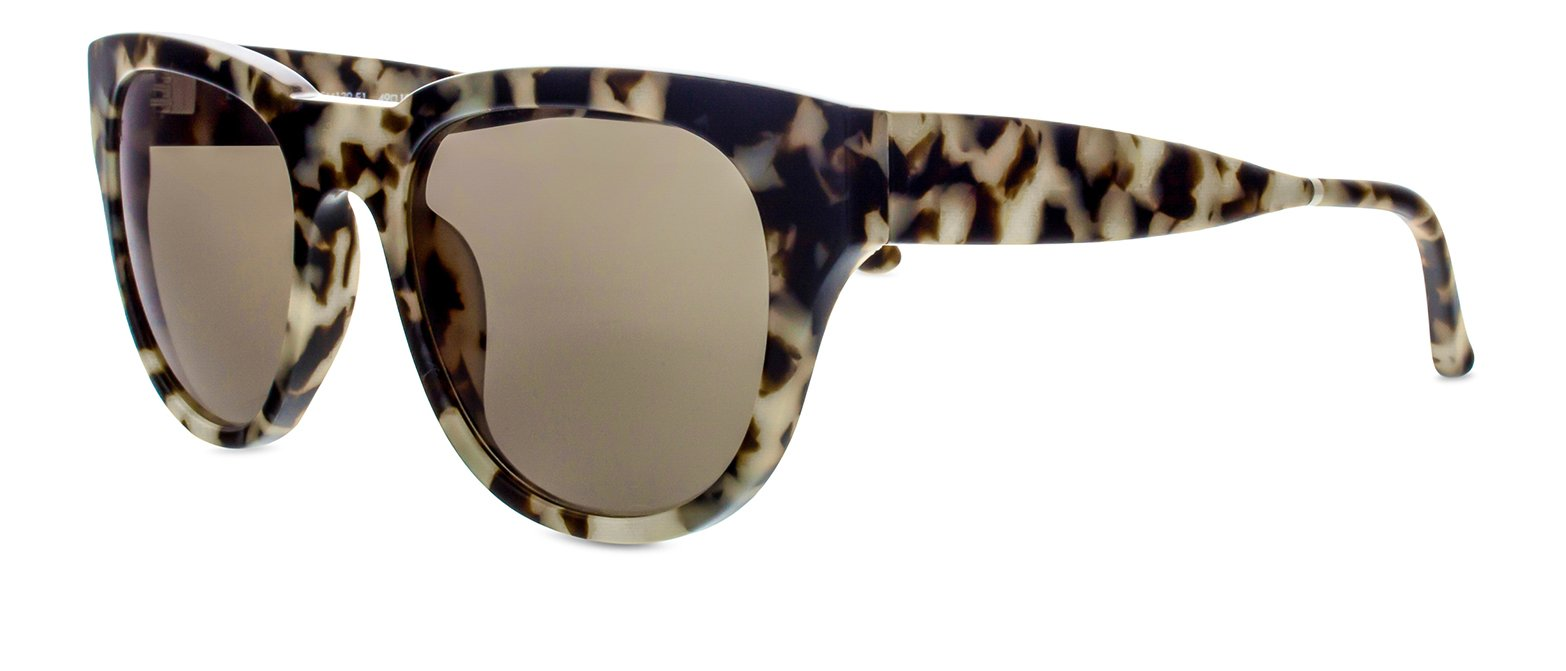 Smoke X Mirrors Everyday Unisex Sunglasses SM139 Based in New York City, Handmade in France (Marble Glam, Grey)