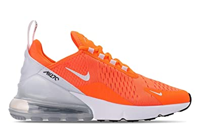 4741d7117e905 Nike Women's WMNS Air Max 270, Orange/White, 12 US: Amazon.com.au ...