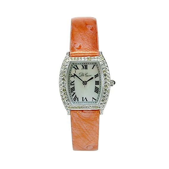 DeCave 103024015 Reloj – Mujer – Latón – Tonneau aprox. 24 x 24 mm –