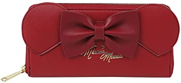 Micky & Minnie Loungefly - Minni Cartera Rojo