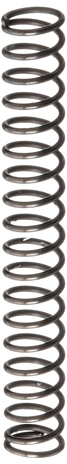 Music Wire Compression Spring Steel Metric 2.82 mm OD 0.32 mm Wire Size 8.51 mm Compressed Length 20.6 mm Free Length 4.67 N Load Capacity 0.38 N mm Spring Rate Pack of 10
