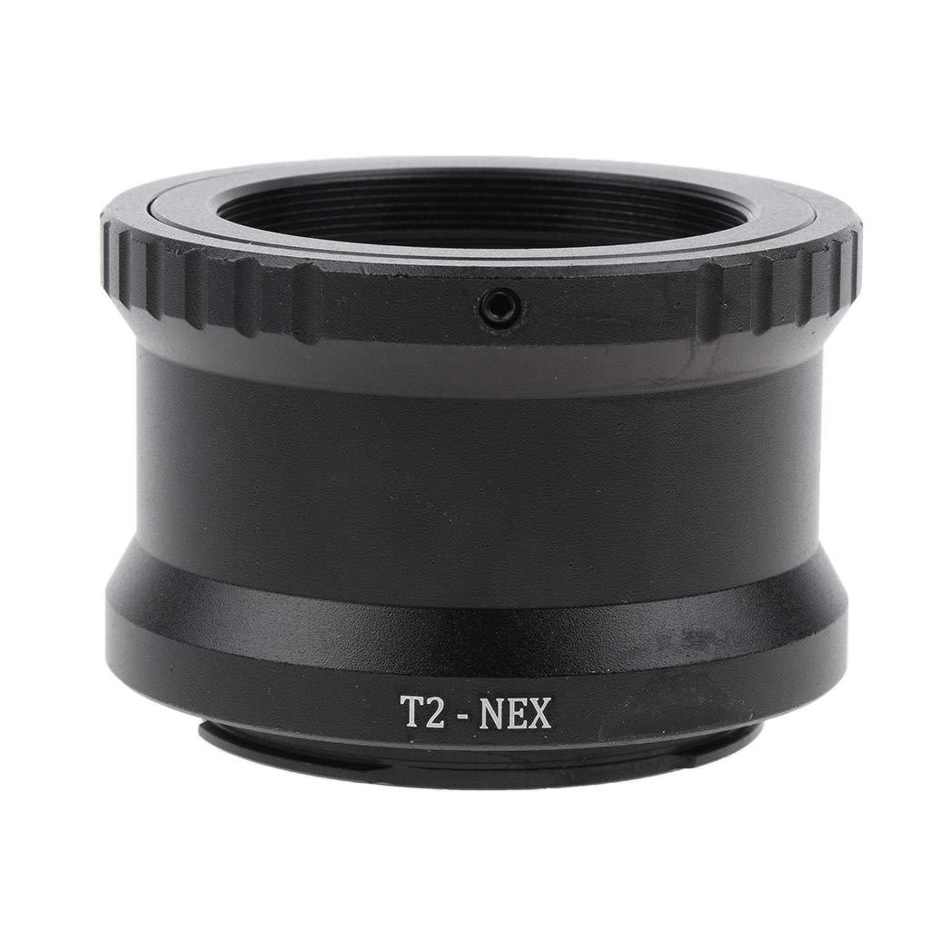 F Fityle Obiettivo T2-nex T Adattatore E-mount Per Sony Nex-7 3n 5n A7 A7r Ii