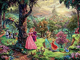 product image for Ceaco Thomas Kinkade The Disney Collection Sleeping Beauty Jigsaw Puzzle, 750 Pieces