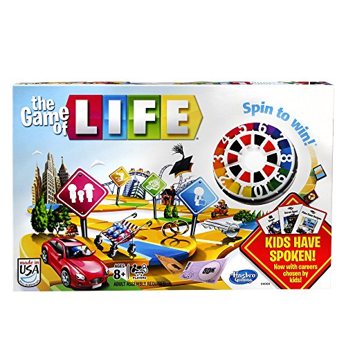Hasbro The Game of Life Game (Life Classic Board Game compare prices)