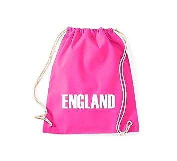 Bolsa de deporte Inglaterra País Países Fútbol, color rosa ...