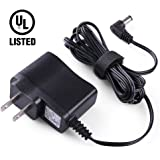 9V AC/DC Power Adapter for BOSS,Dunlop,DanElectro,DigiTech,Ditto,Electro Harmonix,TC Electronic,Zoom Guitar Multi Effects pedal, Casio Piano Keyboard by LotFancy, Center Negative Connector,UL Listed