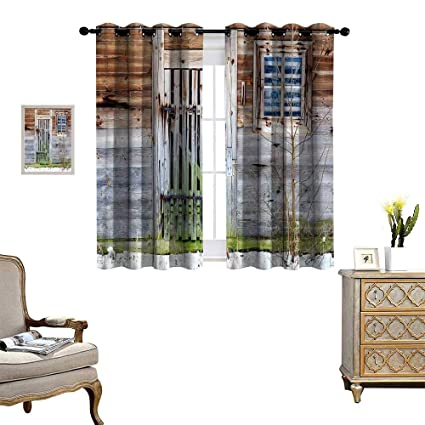 Amazoncom Primitive Country Decor Window Curtain Fabric